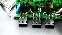 Reparando a placa de circuito eletrônico
