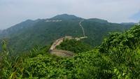 Vista panorámica de la Gran Muralla de China 4K