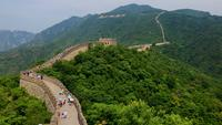 Vista aérea de la Gran Muralla de China 4K