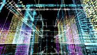 Digitales futuristisches Stadt-HUD-Hologramm