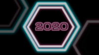 Jahr 2019 wechselt zu Frohes Neues Jahr 2020