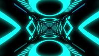 Blaue Tunnelschleife