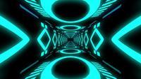 Boucle de tunnel bleu