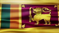Loop de bandeira do Sri Lanka
