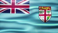 Bucle de bandera de Fiji