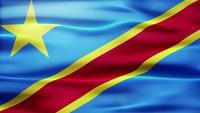 Bucle de bandera del Congo