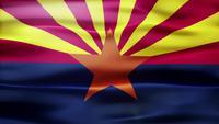 Bucle de bandera de Arizona