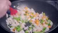Matlagning av sund grönsaksstek hemma