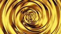 Fondo abstracto de la ola de oro