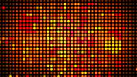Abstract gestippelde mozaïekanimatie lus achtergrond