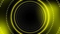 Fond de lumières disco de particules colorées