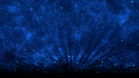 Blue Particles Background
