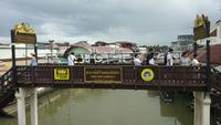 Amphawa-sich hin- und herbewegender Markt, Samut Songkhram, Thailand