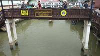 Amphawa-drijvende markt, Samut Songkhram, Thailand