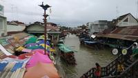 Mercado flotante de Amphawa, Samut Songkhram, Tailandia