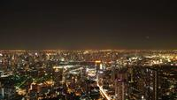 Paisaje urbano de Bangkok en Tailandia