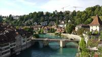 Timelapse Bern City, capital city of Switzerland