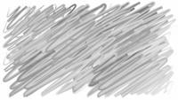 Garabatos dibujados a mano transición acuarela pincel trazo pintura fondo. Animación pincelada pintada a mano en blanco. Grunge trazos de pincel de agua animación. Diseño de borde gris y negro.