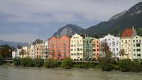 Innsbruck stadsgezicht, Oostenrijk