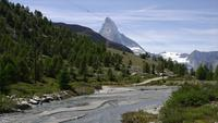 Matterhorn em Zermatt, Suíça, Europa