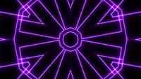 Spectacle laser néon lumière abstraite sur fond noir
