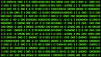 Binary Code Data Background