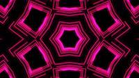 Show de laser de néon luz abstrata em fundo preto