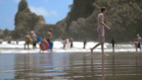 Out Of Focus Beach