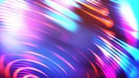 Fundo de Loop de feixes de luz circular brilhante