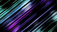 Abstract Glowing Light Beams 4K Background  Video Loop
