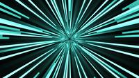 Blue Neon Rays Background
