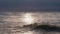 horisontlinje med lugnt havsvatten