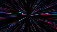 Colorful Neon Firework Background