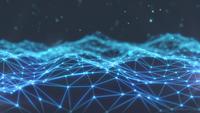 Fondo abstracto de paisaje de tecnología del ciberespacio