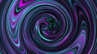 Abstract colorful wavy liquid surface