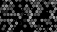 Animation de motif hexagonal