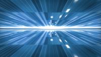 De blauwe lijnen op de achtergrond van het technologieconcept.