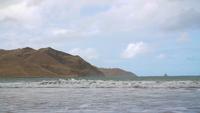 La plage de Nouvelle-Zélande