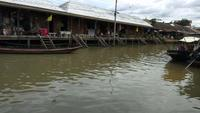 Amphawa Market Canal, the Most Famous of Floating Market