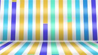 Abstract Colorful Moving Stripes Background
