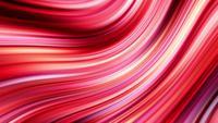 Hermoso video de animación de rayas rosadas y rojas brillantes