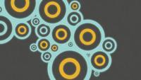 Fundo de animação de batida de círculo