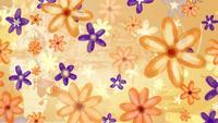 Flores papel de parede plano de fundo