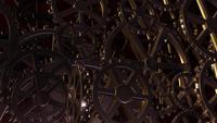 Abstrakter Eisenzahnradhintergrund