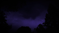 Blixt och storm