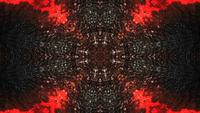 Dark Black And Red Texture