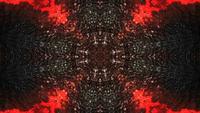 Textura negra y roja oscura