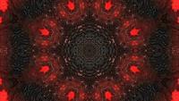 Mysterieuze donkere achtergrond en gloeiend rood licht