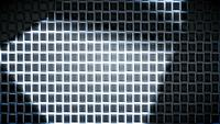 Texture de carrés et lumière en mouvement