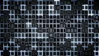 Loop de fundo futurista quadrados